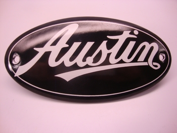 Austin Ovaal 5 x 10 cm Emaille