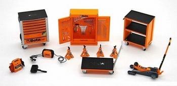 Beta tool kit garage gereedschappen  1/43