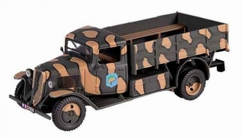 Citroen Type  23 Tannay France 1940 Camouflage  1/43