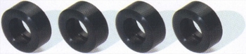 Scalextric Achter banden Nascar Rear tyres  1/32