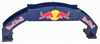 Carrera Red Bull Voetgangers brug - Foot bridge  1/32