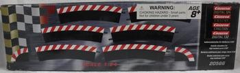 Carrera Buitenkant slipstroken voor kom bocht 3/30°  1/32