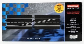 Carrera Digitale wissel Links - Lane change section left  1/32