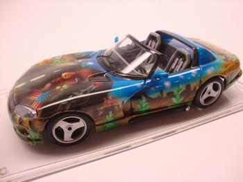 Dodge Viper RT10 airbrush fabrik
