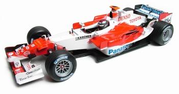 Toyota Panasonic racing TF105 J,Trulli F1  Formule 1  1/18