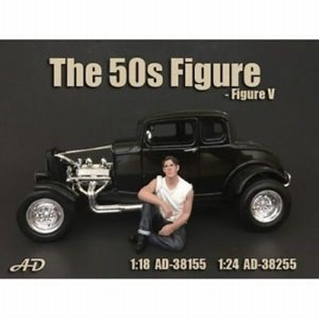 50 s style figure figuur V  1/18