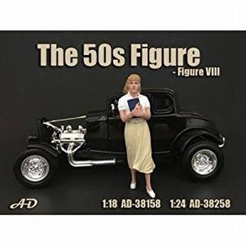 50 s style figure figuur VIII  1/18