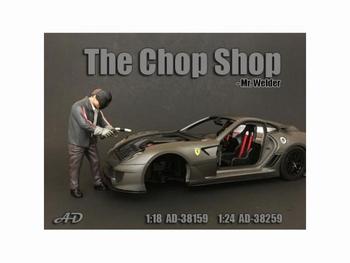 Chop set Mr Welder Figure Figuur   1/18