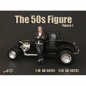 50 s style figure figuur I  1/24