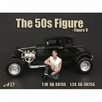50 s style figure figuur V  1/24