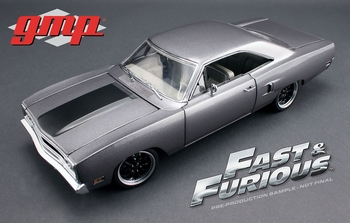 Plymouth Road Runner 1970 Zilver Silver  1/18