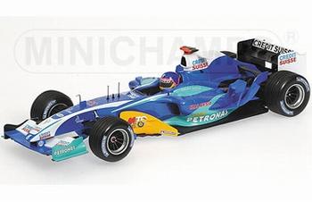 Sauber Petronas C24 J,Villeneuve 2005 F1 Formule 1  1/18