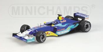 Sauber Petronas showcar 2003 H H Frentzen F1 Red Bull   1/18