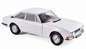 Peugeot 504 Coupe 1969 Wit Aroas White  1/18