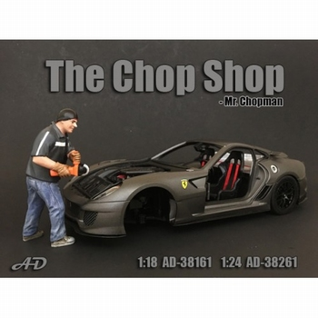 Chop shop set mr chopman figure figuur  1/18