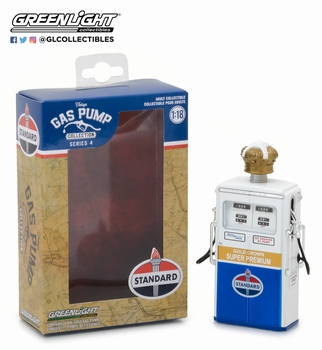 Benzine pomp Gas pump Standard Tokheim 1954 350 twin  1/18