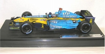 Renault F1 Team Limited edition  box Formule1 Alonso Brasil  1/18