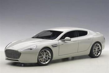 Aston Martin Rapide S 2015 Silver Fox  1/18