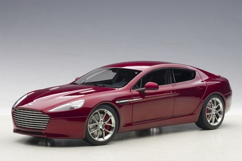 Aston Martin Rapide S 2015 Rood Diavolo red  1/18