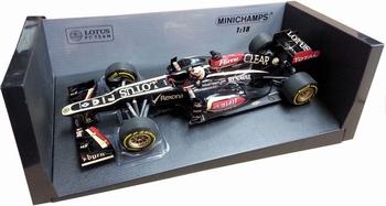 Renault Lotus F1 team K Raikkonen E21 2013 Formule 1  1/18