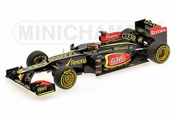 Renault Lotus F1 Team K Raikkonen schowcar limited edition  1/18