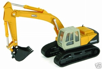BELL HD820E hydraulic excavator  1/50