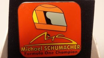 Pin Michael Schumacher Formula One Champion