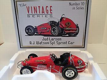 AJ Watson Sprint car #2 1965 Jud Larson  1/18