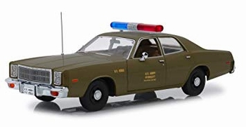 Plymouth fury 1977 US Army police The A team   1/18