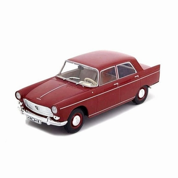 Peugeot 404 Rood  / Red 1960  1/24