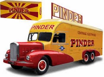 Pinder Circus Bernard 28  Power power station wagon 1951  1/43