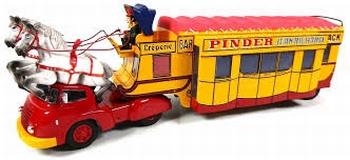 Pinder Circus bar creperie Truck & Trailer Pinder snack  1/43
