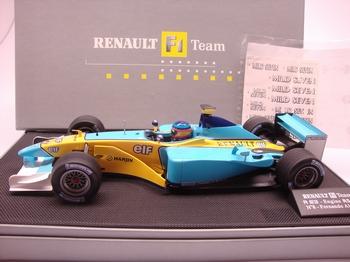 Renault F1 team  r23 #8 Fernando Alonso Formule 1 RS23 ELF  1/18