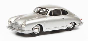 Porsche 356 Gmund Coupe Zilver - Silver  1/18