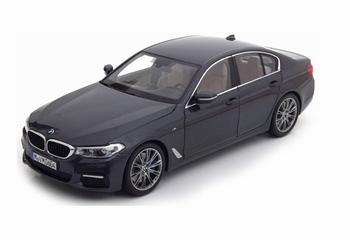 BMW 5 serie G30 M Sport 2017 Grijs  Sophisto Grey  1/18