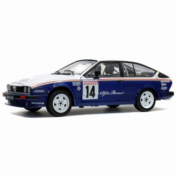 Alfa Romeo GTV6 # 14 Y,Loubet tour de corse 1986