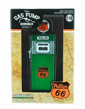 Benzinepomp - gas pump Wayne  Philips 66 Groen - Green  1/18