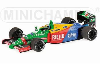 Benetton Ford  B199 A,Nannini Winner Japan F1 Formile 1 1989  1/43
