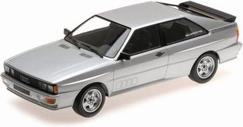 Audi Quattro  1980 Zilver - Solver   1/18