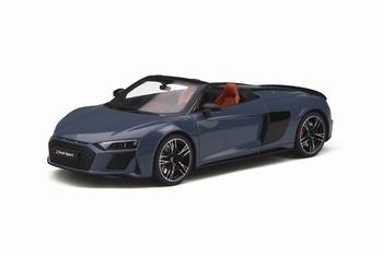 Audi R8 Spyder Grijs Kemora Grey  1/18