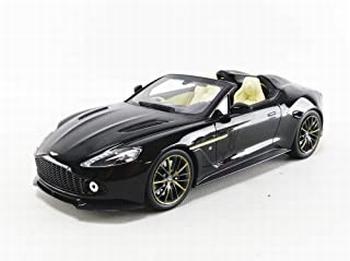 Aston Martin Vanquish Zagato Speetster Zwart - Black  1/18