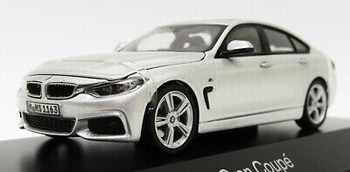 BMW 4 serie Grand Coupe F30 2014  Zilver - Silver  1/43