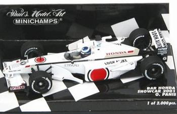 Bar Honda showcar O,Panis F1 2001 Formile 1  1/43