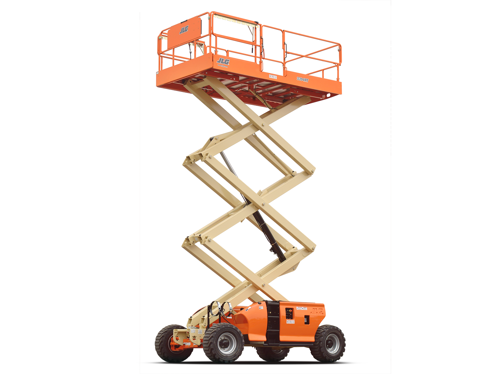 JLG 3394RT rough terrain sciccor lift  1/32