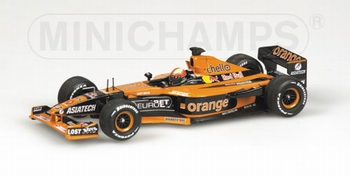 Asiatech Orange Arrows F1  E,Bernoldi Formule 1 Red Bull  1/43