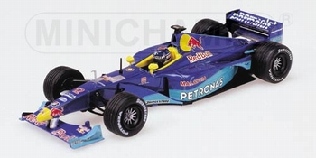 Sauber Petronas C18 F1 P,Diniz Formule 1 Red Bull 1999  1/43