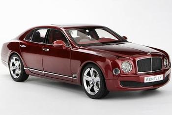 Bentley Mulsanne Speed Rood Rubinho Red  1/18