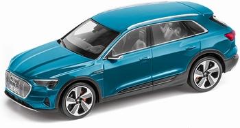 Audi E tron   Blau Antigua blue  1/43