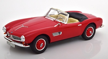 BMW 507  1956  Rood - Red  1/18