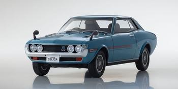 Toyota Celica 1600 gt Blauw - Blue  1/18